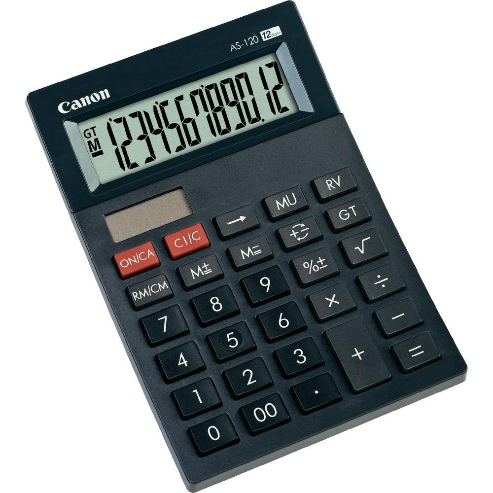 how to use 12 digit calculator