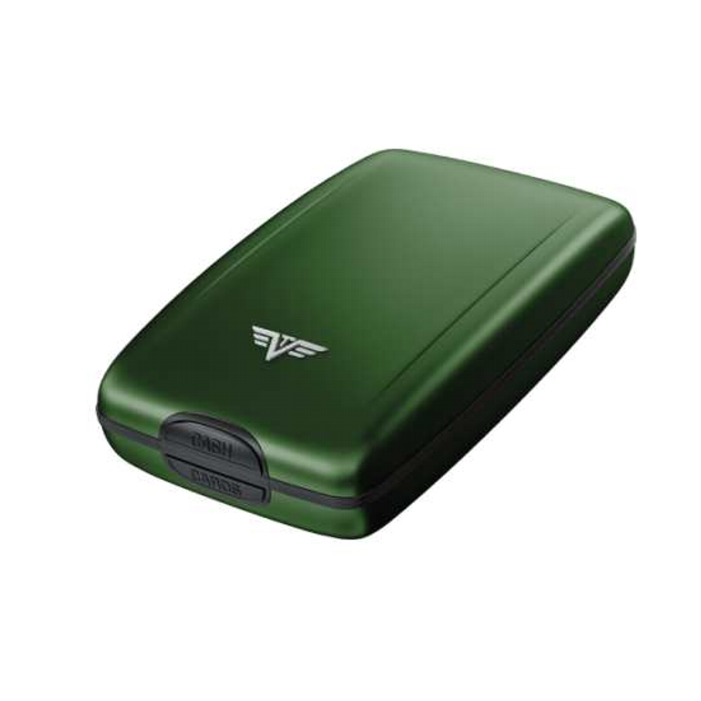 4125c8c43a TRU VIRTU Cash and Cards Case Hi-Tech Πορτοφόλι αλουμινίου (Green ...